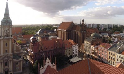 001 Panorama z wieży ratusza