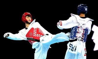 2012 London Olympic Games  Korean Taekwondo Lee Dae-hoon won silver medal in men's -58kg at the ExCel Arena.  2012.08.09  Photo by Korean Olympic Committee   Ministry of Culture, Sports and Tourism Korean Culture and Information Service  --------------------------------------  2012 ·±´ø ¿Ã¸²ÇÈ  ³²ÀÚ Å±ǵµ -58kg ÀÌ´ëÈÆ Àº¸Þ´Þ ȹµæ  »çÁøÁ¦°ø - ´ëÇÑüÀ°È¸  ¹®ÈÃ¼À°°ü±¤ºÎ Çؿܹ®ÈÈ«º¸¿ø