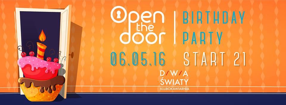 Open The Door Obchodzi Pierwsze Urodziny Chillitoruń