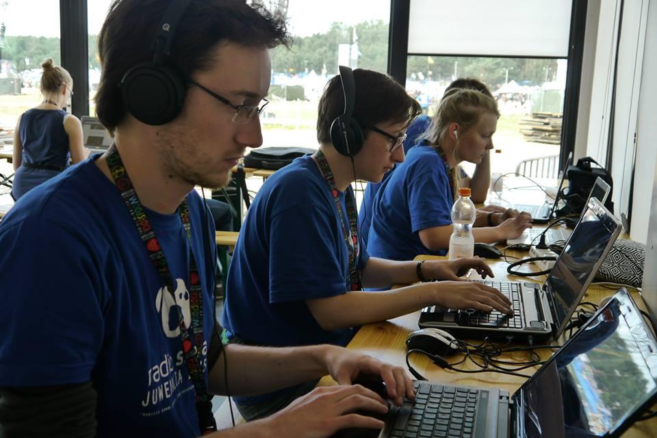 Przedstawicieli Radia Sfera niezabrakło naprzystanku Woodstock (fot.Facebook)