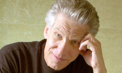 Director DAVID CRONENBERG of the film 'Spider' during the Toronto International Film Festival.