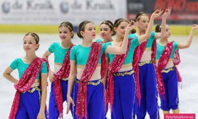 Grupa Juvenille na zawodach w Eidhoven w 2017