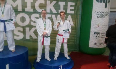 Nataniel Gębicki i Kajusz Gębicki - brąz, -60kg, Kumite ind. (2)