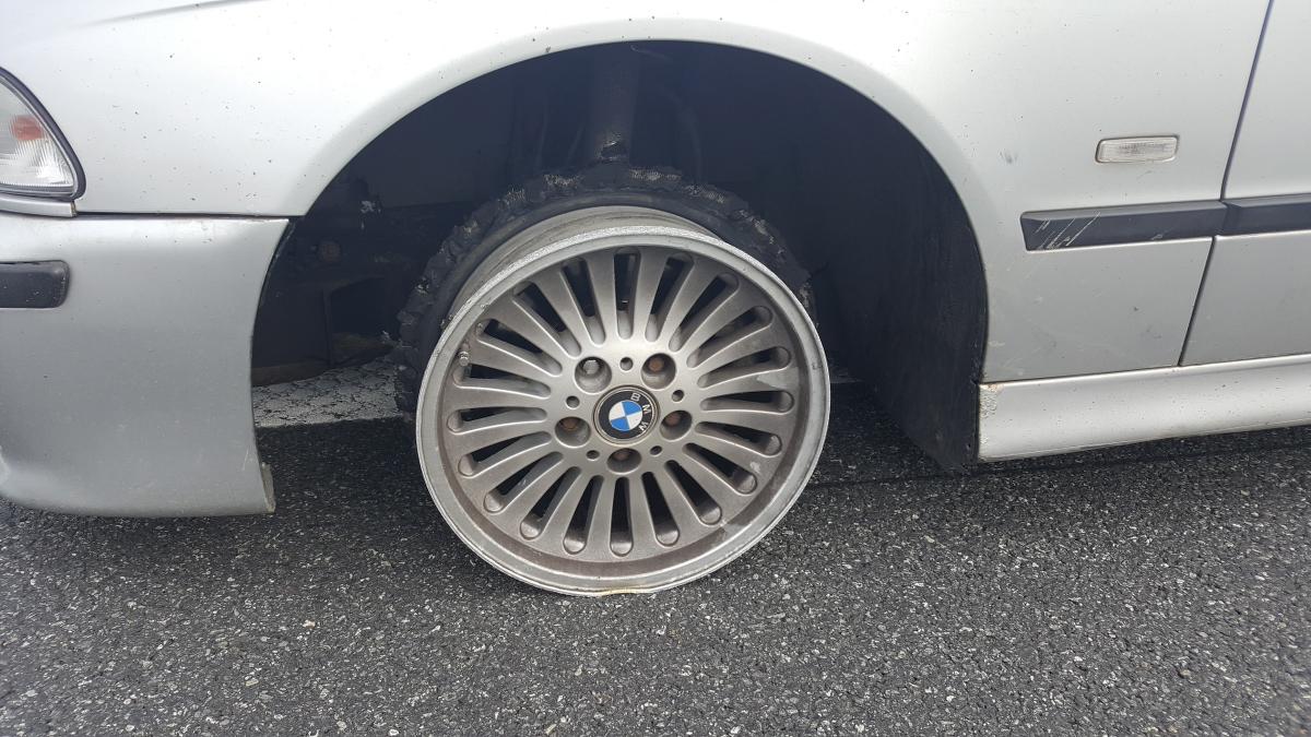 Na szczęście pijany kierowca nie wyrządził większych szkód (fot. materiały prasowe)