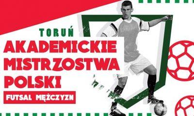 Akademickie Mistrzostwa Polski w Futsalu - półfinał A (fot. https://www.facebook.com/AMPFutsalTorun/)