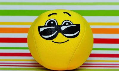 Glasses Cute Smiley Face Cool Yellow Funny Sweet