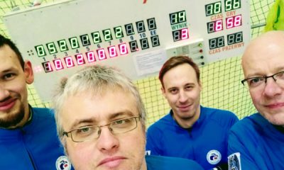 Toruń Curling Team (od lewej: Bartosz Jakubowski, Radosław Kowalski, Mateusz Kulik, Paweł Piotrowicz) | fot. torun.pl