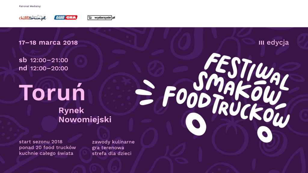 III Festiwal Smaków Food Tracków w Toruniu