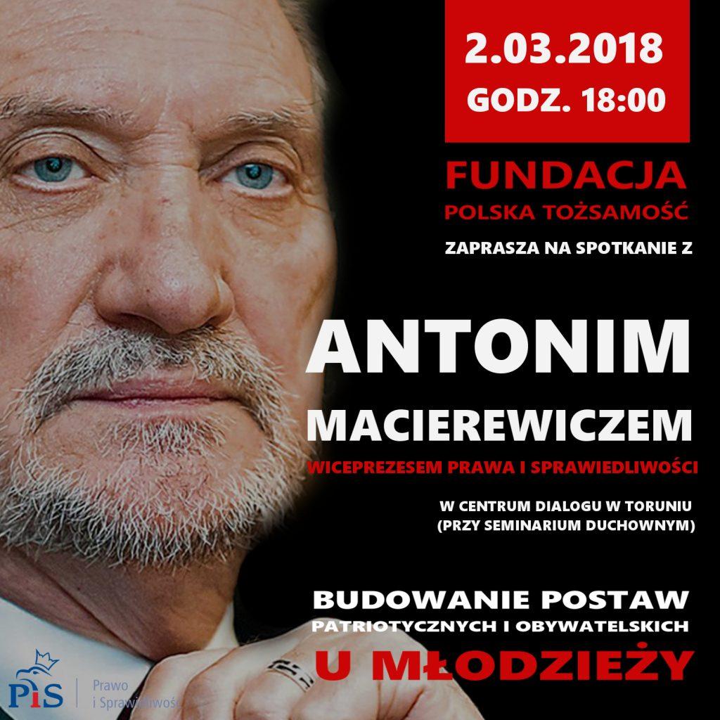 antoni macierewicz projekt plakatu