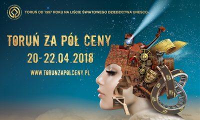 Toruń za pół ceny wiosna 2018 (fot. torun.pl)