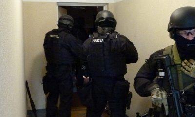 Zatrzymanie trzeciego z mężczyzn nastąpiło 21 marca (fot. materiały prasowe KMP w Toruniu)
