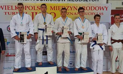 Do sukcesów toruńskich judoków zaliczamy m.in. wygraną Michała Paziewskiego w Pucharze Polski Juniorów Młodszych (fot. strona klubu na Facebooku)