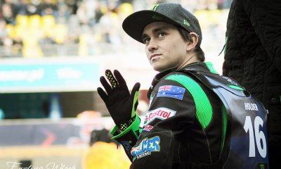 Jack Holder podczas Speedway Best Pairs w Toruniu (fot. Ewelina Włoch)