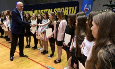 Nagrody dla sportowców i trenerów (fot. Wojciech Szabelski/torun.pl)