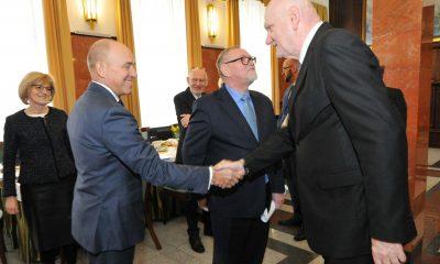 Prezydent Torunia spotkał się z władzami UMK (fot. Małgorzata Litwin/torun.pl)