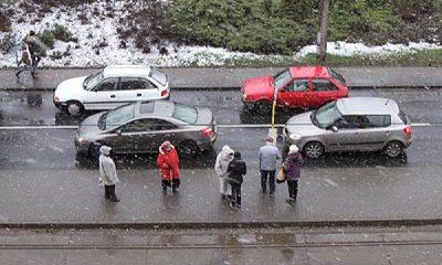 Kierowcy powinni zachowywać w najbliższych dniach szczególną ostrożność (fot. torun.pl)