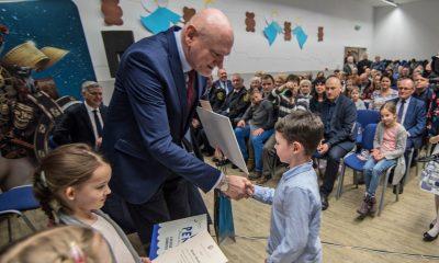 Prezydent Michał Zaleski spotkał się z mieszkańcami osiedla Bielawy-Grębocin (fot. Lech Kamiński/torun.pl)