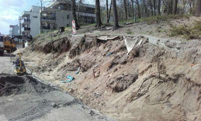 Trwa przebudowa ulicy Winnicy (fot. materiały prasowe MZD w Toruniu)