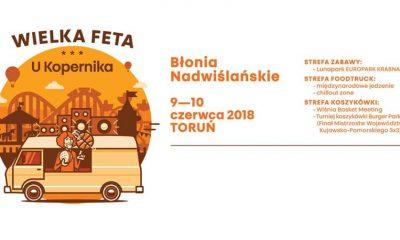 """""""Wielka Feta u Kopernika"""" na Błoniach Nadwiślańskich (fot. wydarzenie na Facebooku)"""