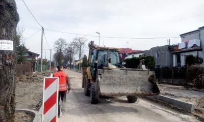 Kolejne roboty drogowe na ul. św. Antoniego (fot. torun.pl)