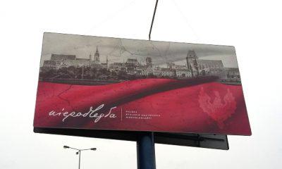 O niepodległości na billboardach (fot. torun.pl)