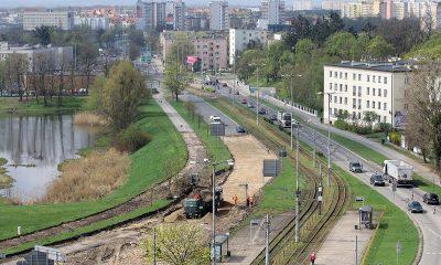 Kolejny etap przebudowy placu Chrapka (fot. Adam Zakrzewski/torun.pl)