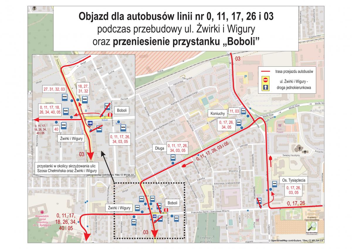 Zmiana organizacji ruchu obejmie autobusy MZK (fot. torun.pl)