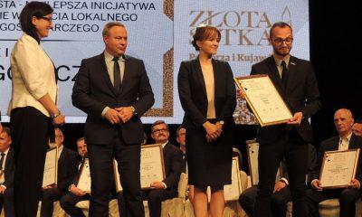 Toruń wyróżniony podczas XXII edycji rankingu Złota Setka Pomorza i Kujaw (fot. Damian Klich/torun.pl)