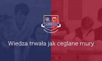 Cambridge Academy - nowy projekt w Toruniu (fot. strona szkoły na Facebooku)