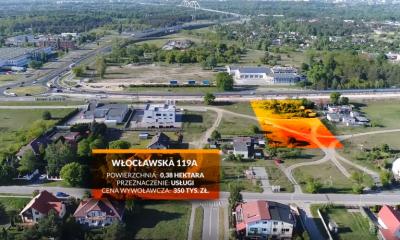 Trzy działki przy ul. Włocławskiej do wzięcia (fot. Centrum Wsparcia Biznesu)