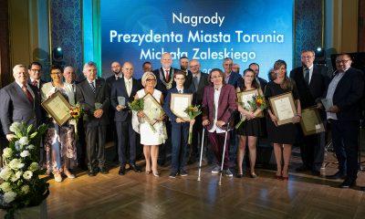 Nagrody Prezydenta Miasta Torunia 2017 (fot. Wojciech Szabelski/torun.pl)