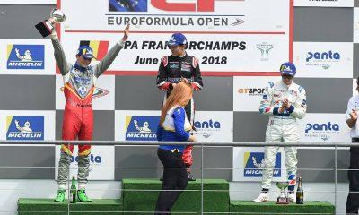 Alex Karkosik stanął w Belgii na drugim stopniu podium (fot. Facebook.com/alexkarkosikofficial)