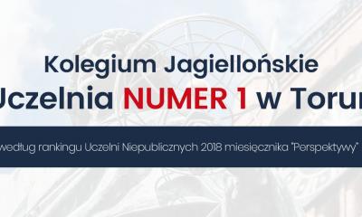 Kolegium Jagiellońskie najlepszą uczelnią niepubliczną w Toruniu (fot. materiały prasowe Kolegium)