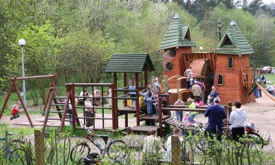 Trampolinowy plac zabaw wkrótce na Barbarce (fot. torun.pl)