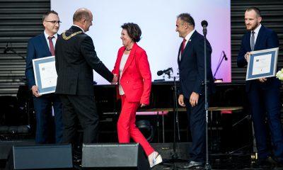 Uroczystość wręczenia Nagród Marszałka 2018 (fot. Andrzej Goinski/materiały prasowe urzędu