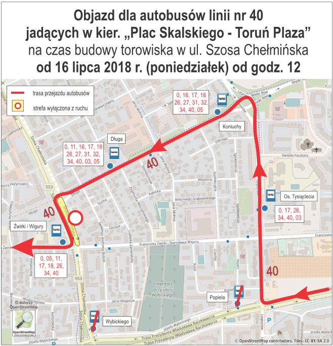 Objazd linii nr 40 MZK (fot. materiały prasowe)