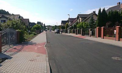 Przebudowana ul. Krakowska (fot. materiały prasowe MZD w Toruniu)