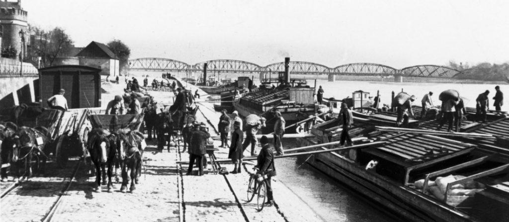 Dawny port Wiślany w Toruniu (fot. Arkadiusz Skonieczny)