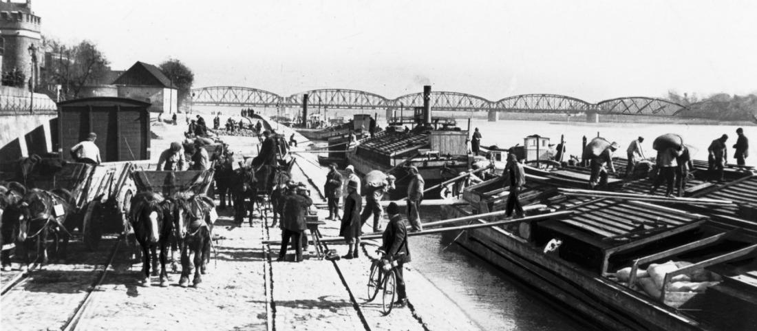 Dawny port Wiślany- foto Arkadiusz Skonieczny