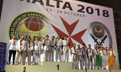ME KARATE MALTA - podium