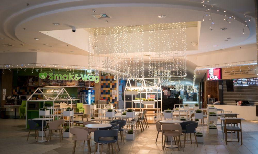 Centrum Handlowe Bielawy Z Nową Strefą Restauracyjną Foto