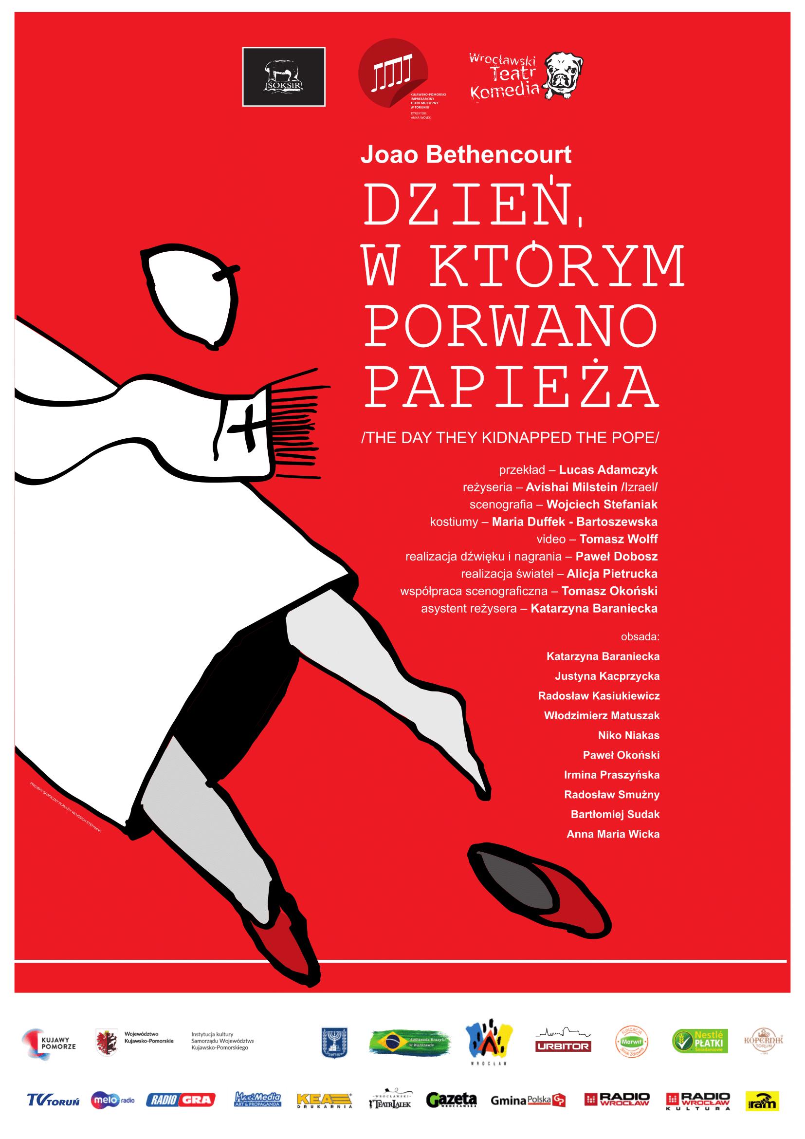Dzień w którym porwano papieża - e-plakat