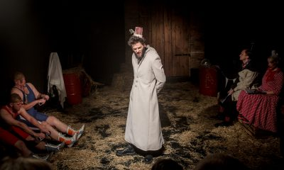"""Teatr Usta Usta Republika """"Geometria"""" fot. Andrzej Majos 2"""