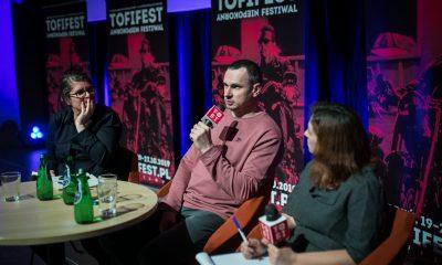 24.10.2019 Torun FESTIWAL TOFIFEST OLEG SENCOW fot. Andrzej Goinski