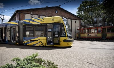 2020/07/22 Torun Podpisanie umowy MZK i PESY na dostawe nowytch tramwajow w Toruniu.. Fot. Wojtek Szabelski / szabelski.com